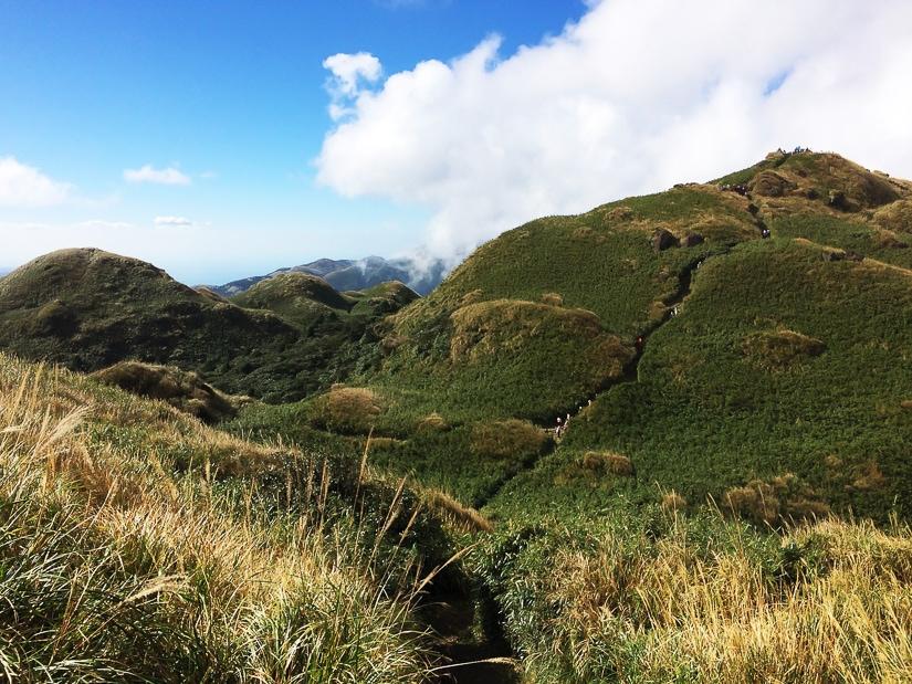 Qixingshan Peak hike (Seven Star Mountain), Yangminshan, Taipei