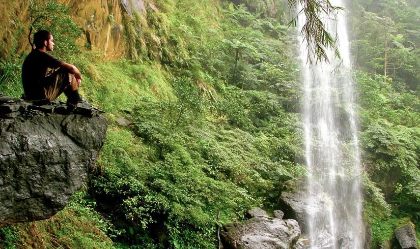 Motian Waterfall, Sandiaoling Hike, Taiwan