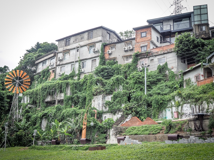 Treausre Hill Artists Village, one of the best places to visit in Taipei in May