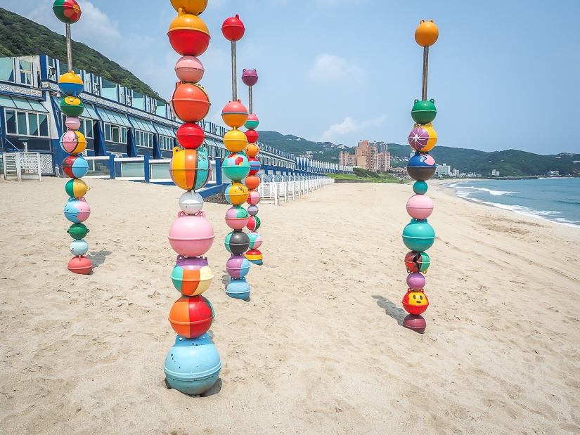 White House Resort Wanli, which has rooms facing a great beach in Taiwan