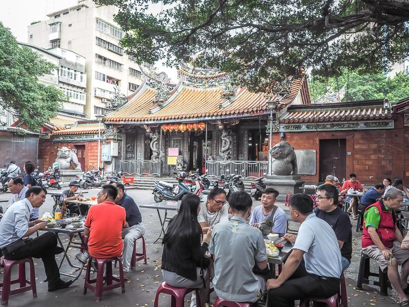 Dadaocheng Cisheng Temple, Taipei