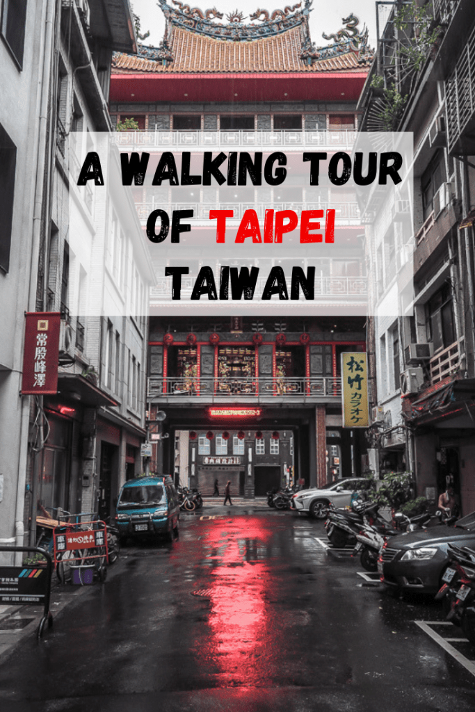 Follow this walking tour of Taipei, Taiwan to find some of the best Taipei restaurants, Taipei hotels, things to do in Taipei, and historic Taipei attractions! It's the pefect Taipei tour! Let this be your Taipei guide #taipei #taiwan #taipeiwalkingtour #taipeitaiwan #dadaocheng #dihuastreet #thingstodointaipei