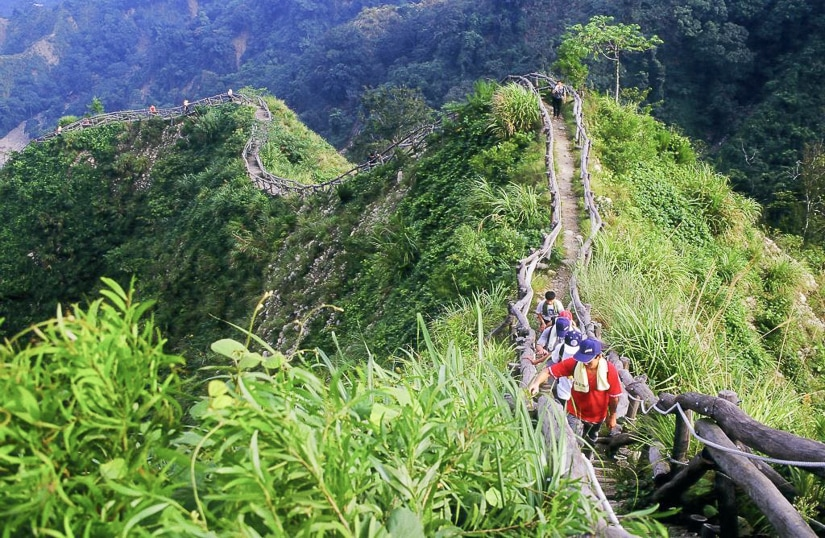 Dakeng Scenic Area, one of the best places to go hiking in Taichung