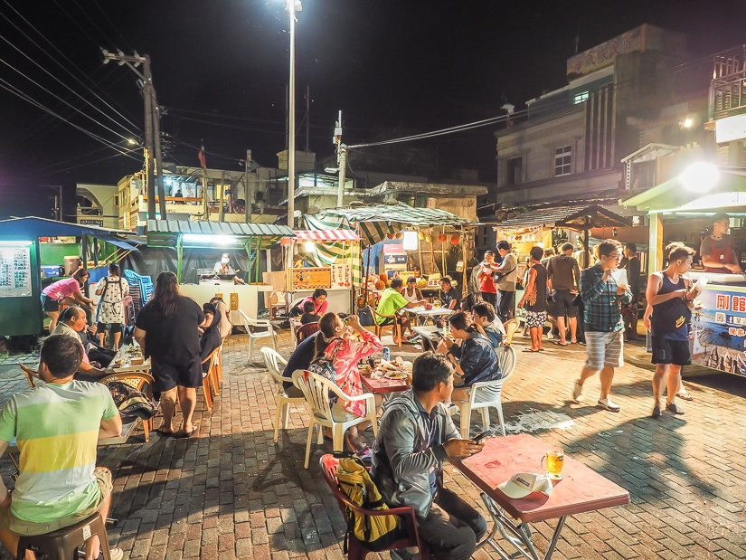 Orchid Island Night Market at Dongqing Village