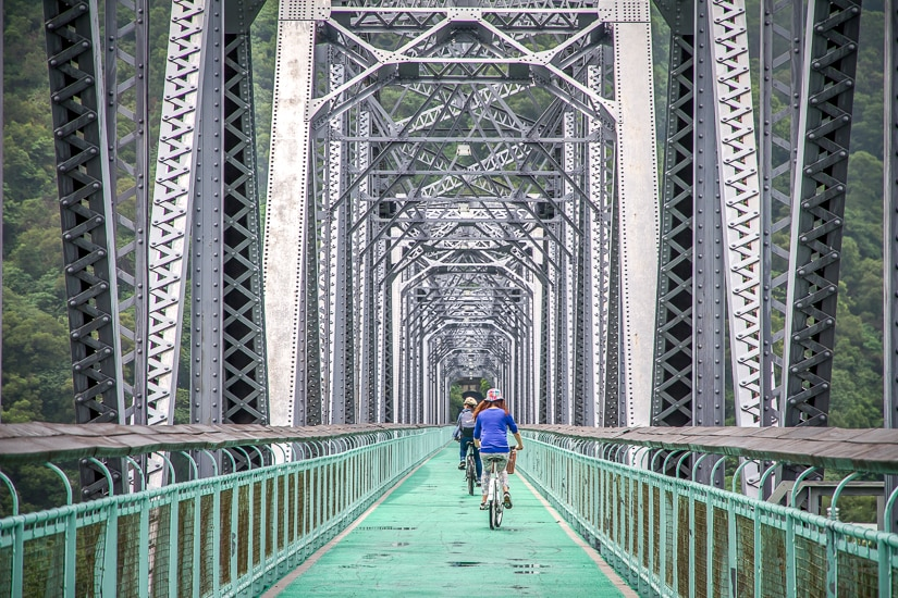 Houfeng Cycling route, a famous cycling trail in Taichung