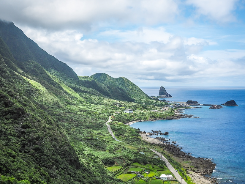 View on the way up to Lanyu Lighthouse, Orchid Island