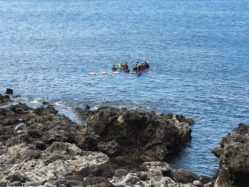 Scuba diving, one of the best things to do on Orchid Island
