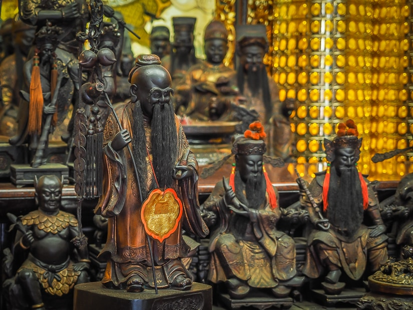 Yue Lao (Yue Xia Lao Ren), Xia Hai City God Temple