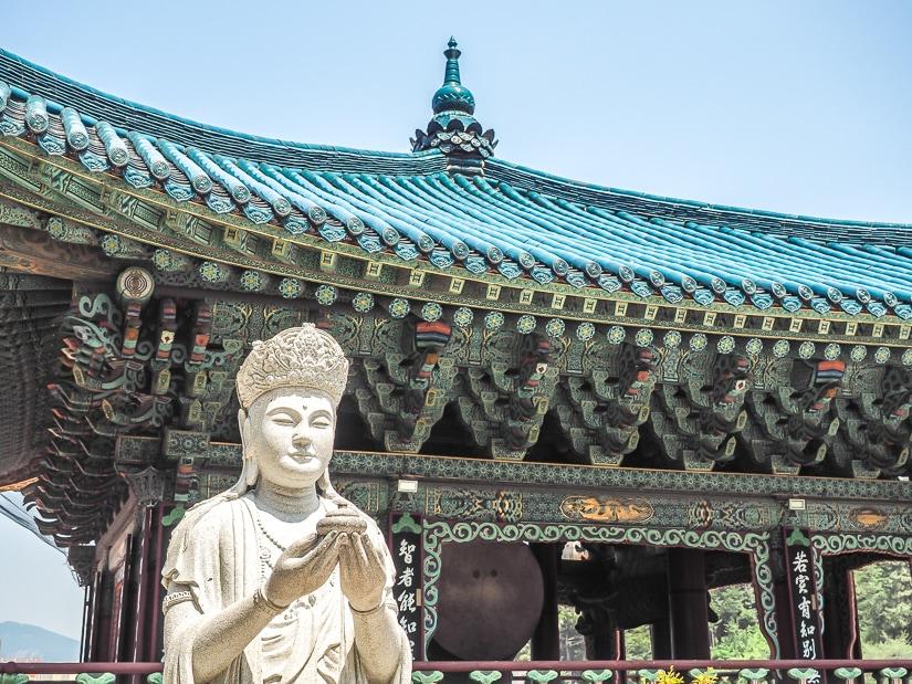 Drum and Bell Tower, Samgwang Temple, Busan
