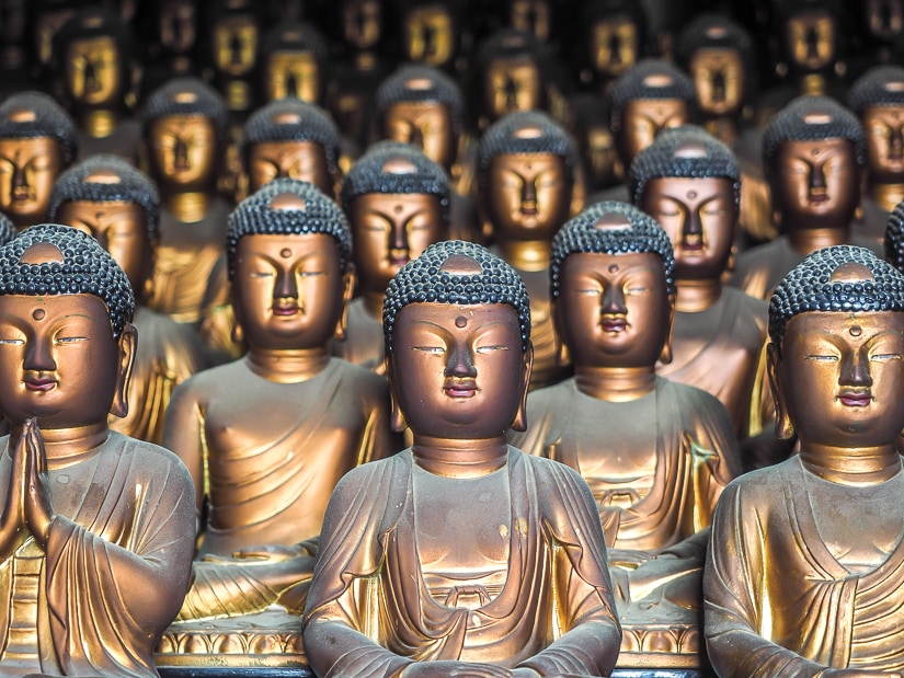 Buddha Statues at Seokbulsa