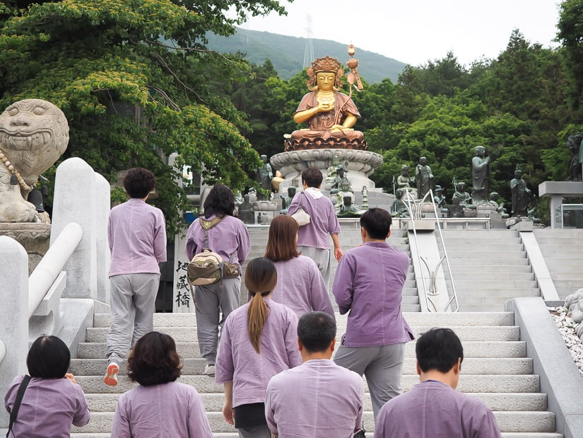 Wondering what to do in Busan? Start with Beomeosa temple!
