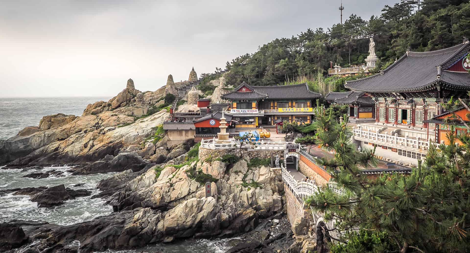 Haedong Yonggungsa: Mixed Feelings about Busan's Temple by the Sea |  Spiritual Travels