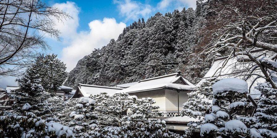 Koyasan in winter