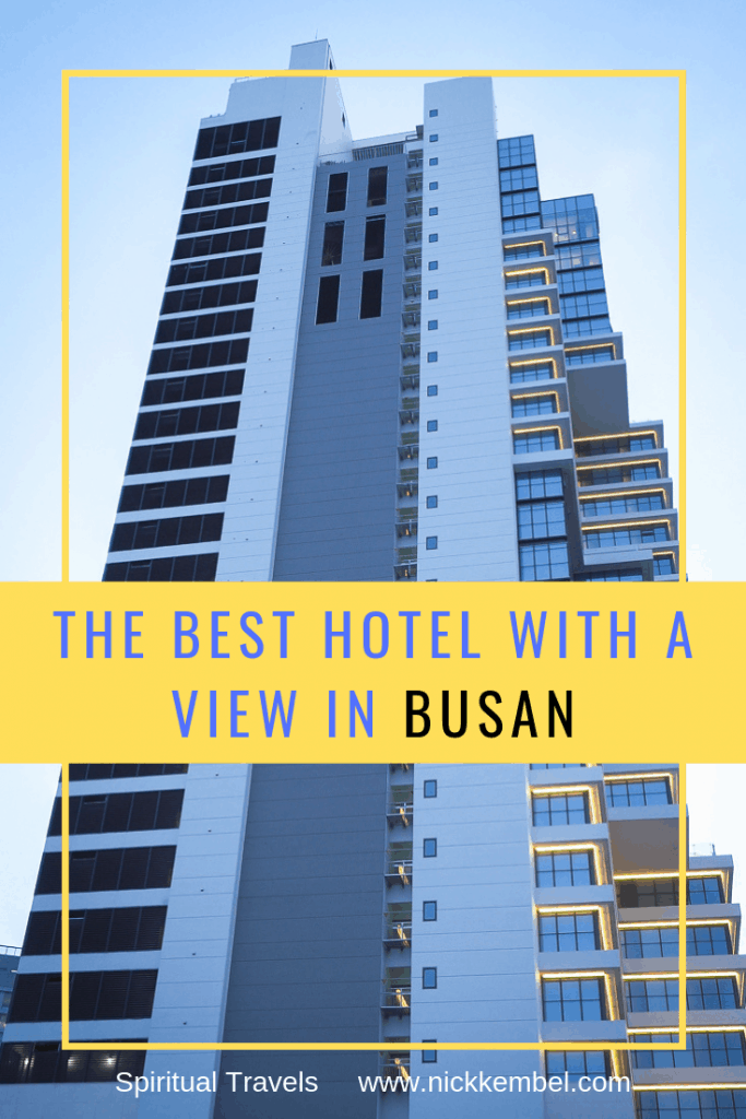 Looking for the best hotel in Busan? This hotel review introduces the an awesome mid-range Busan hotel with an amazing view over Busan.