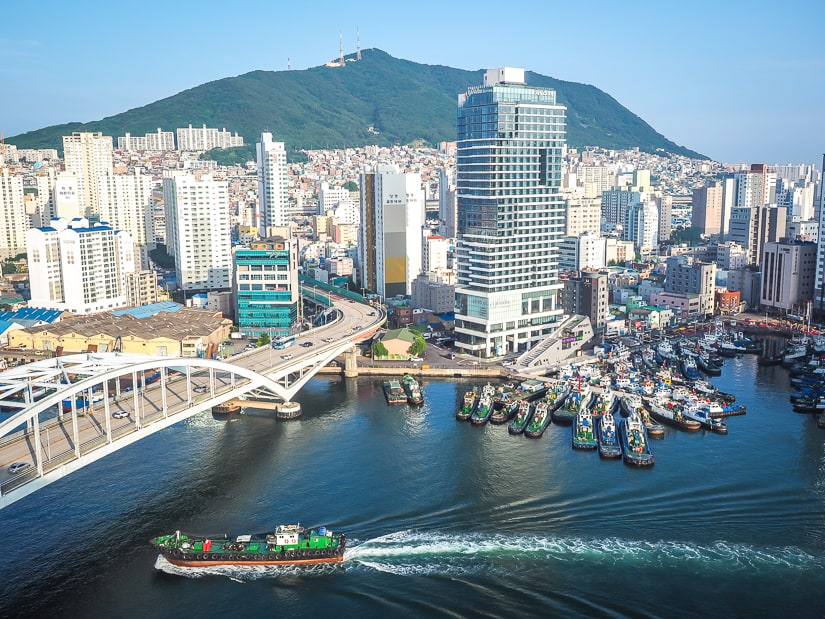 Yeongdo Island, which I think is the best place to stay in Busan