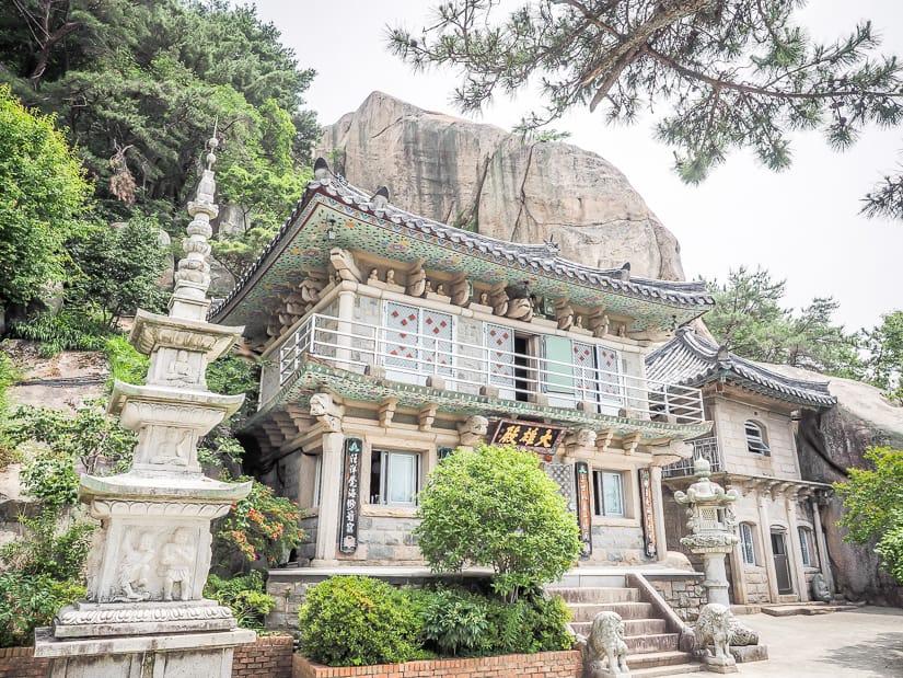 Main Hall at Seokbulsa Temple, Busan