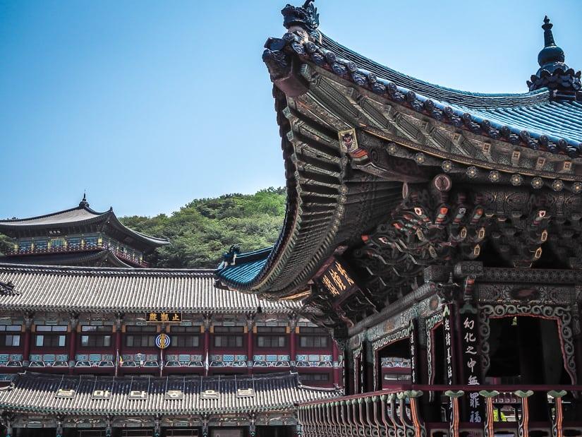 Temple buildings at Samgwangsa