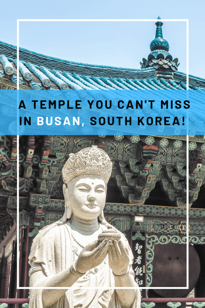 One of the best things to do in Busan is visiting Samgwangsa Temple, one of the most impressive Buddhist temples in Busan. Don't leave it out of your Busan itinerary, especially if you visit during the Korea Lantern Festival in Busan!