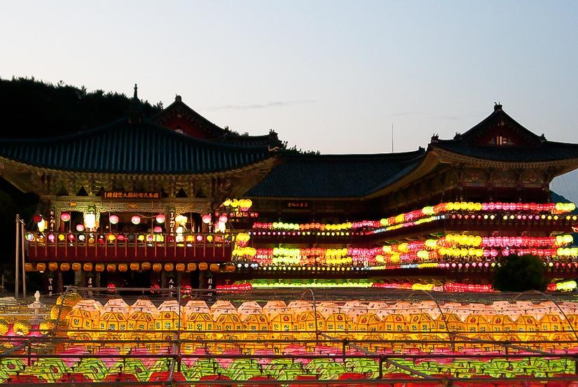Samgwangsa Temple Lantern Festival