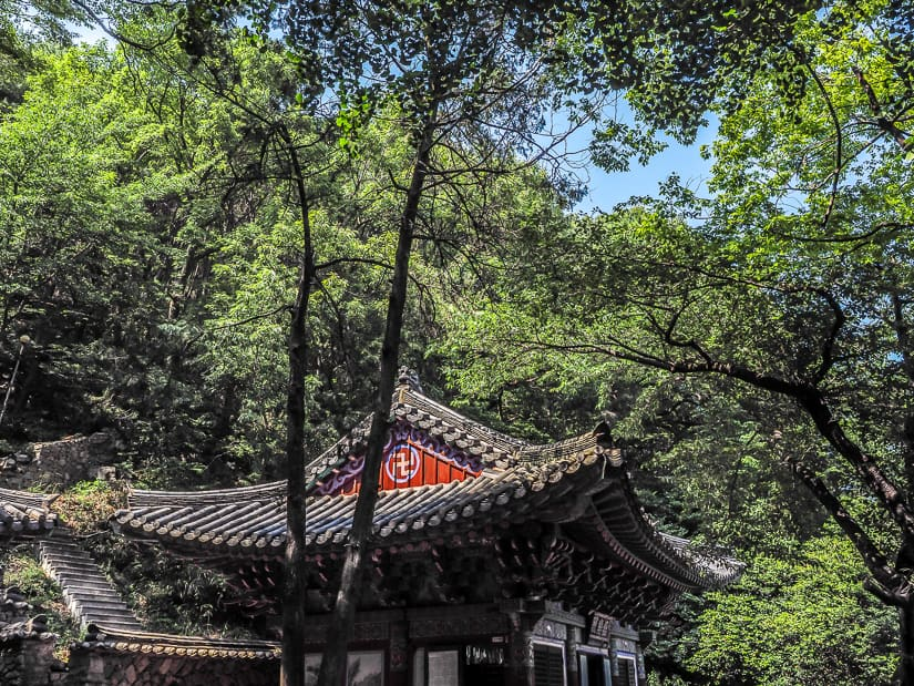 Second level of Seonamsa Temple, Busan
