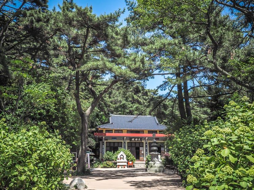 Taejongsa Temple, Yeongdo Island, Busan