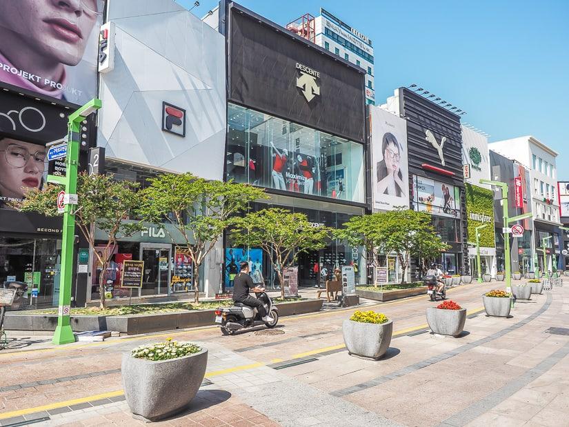 Gwangbokdong Cultural Fashion Street Busan