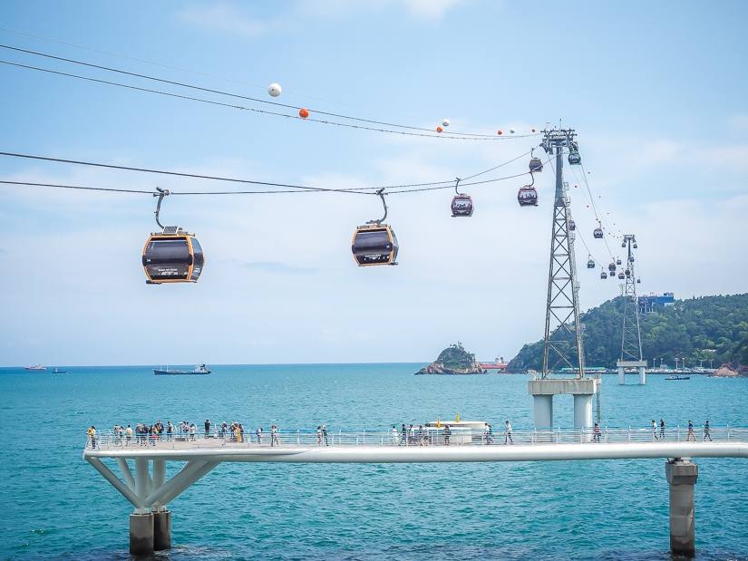 Songdo Cable Car, Busan
