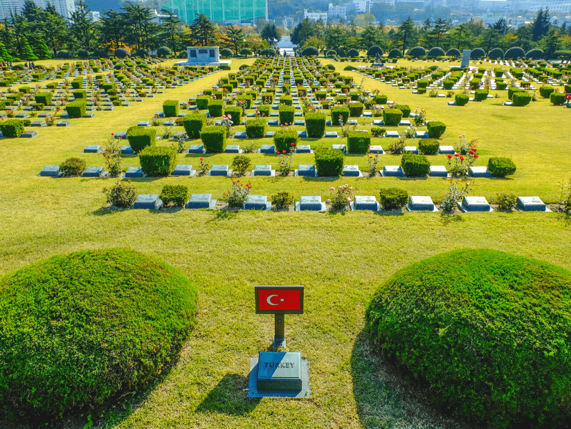 United Nations Memorial Cemetery Busan