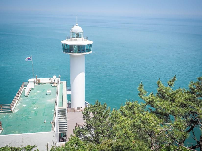 Yeongdo Lighthouse, Taejongdae Resort Park