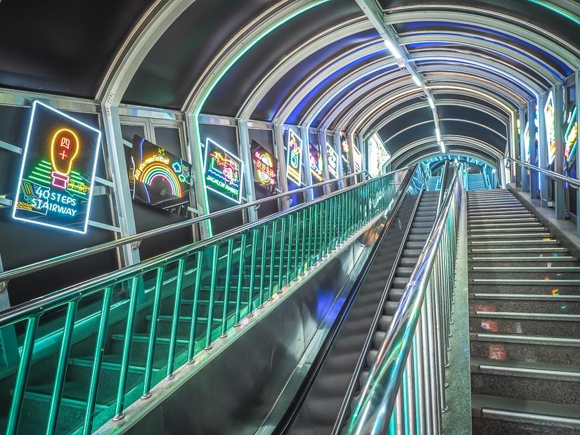 Yongdusan Street Escalators