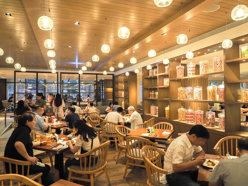 Café buffet restaurant, Grand Hyatt Taipei