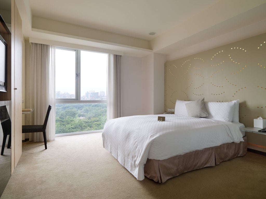 Dandy Hotel, a great Taipei hotel with a view of Da-An Park