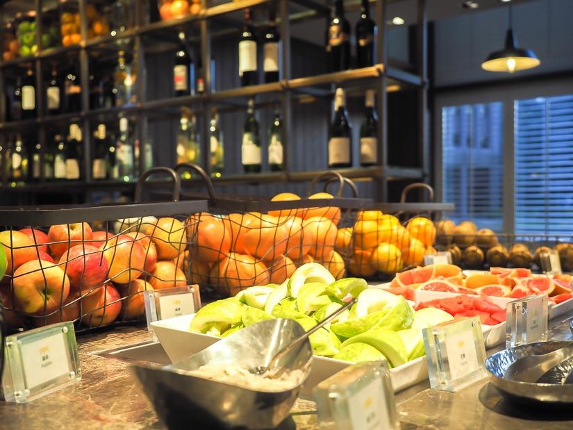 Café fruit bar, Grand Hyatt Taipei
