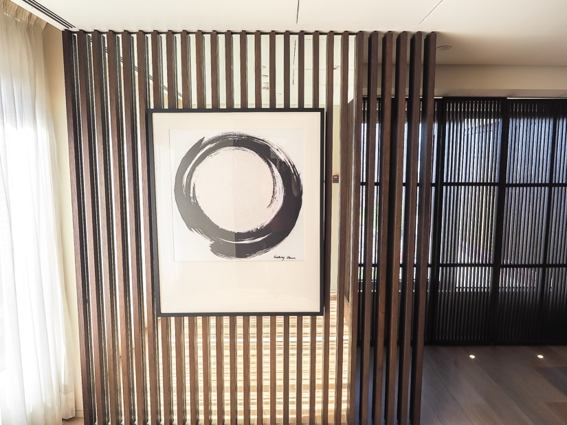 Entrance to Grand Executive Suite at Grand Hyatt Taipei