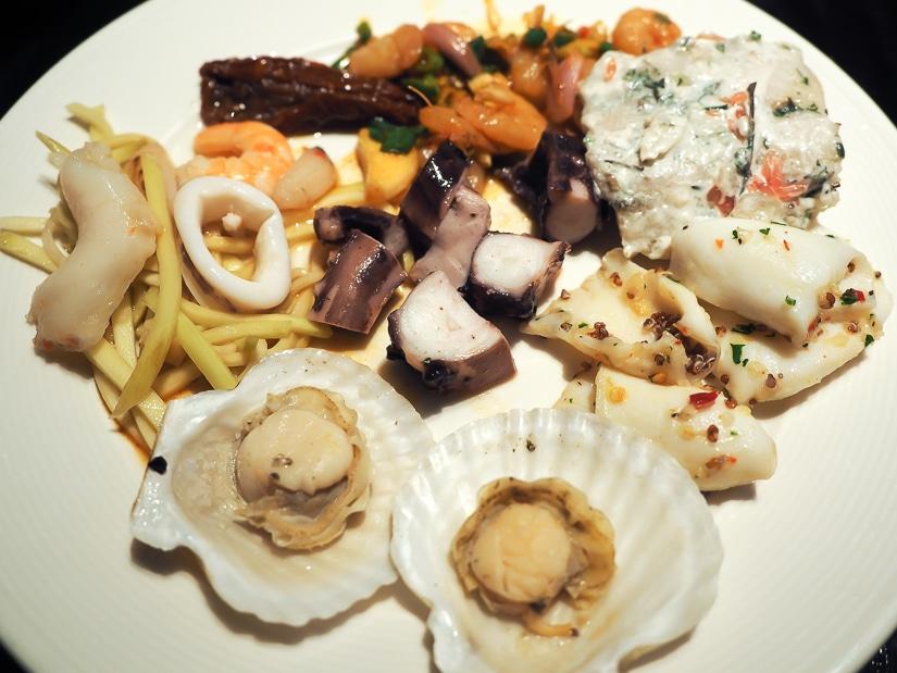 My meal at Café, Grand Hyatt Taipei