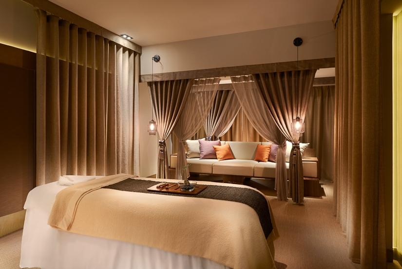 Oasis Spa massage room, Grand Hyatt Taipei