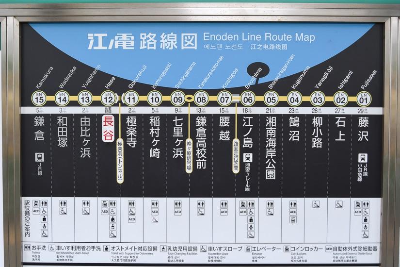 Enoden line route