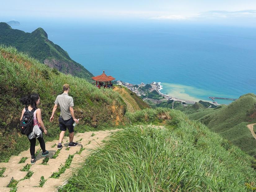 How to get from Taipei to Jinguashi