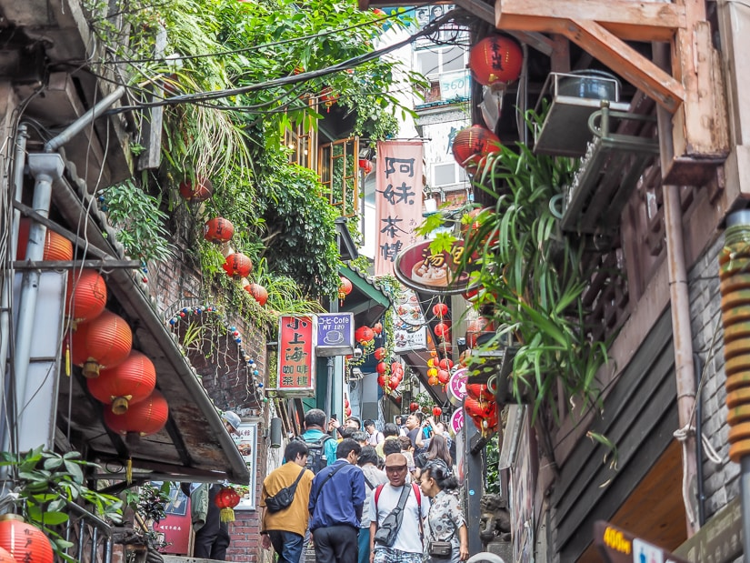 Jiufen, a great day trip from Taipei