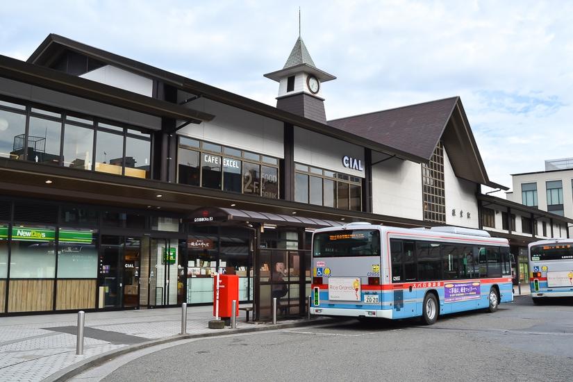 Bus station at Kamakura
