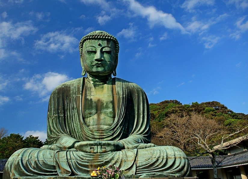 Great Buddha of Kamakura, an umissable stop on any day trip to Kamakura