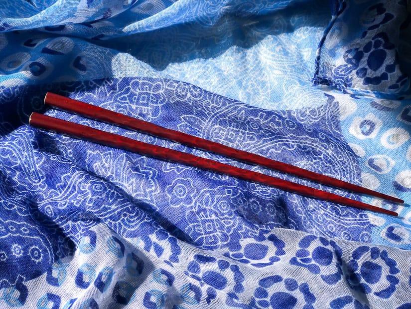 Kamakurabori chopsticks in Kamakura