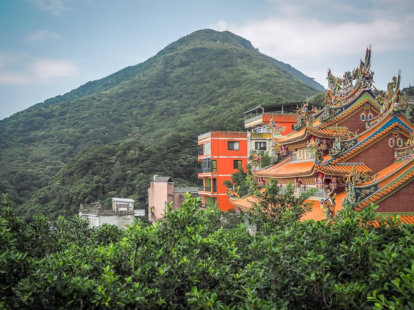 Keelung Mountain Trail in Jiufen
