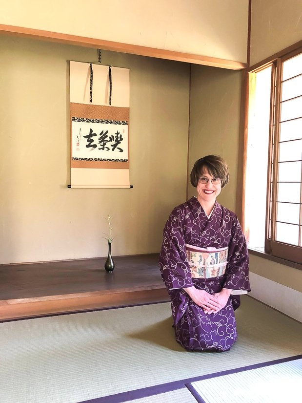 "Sarah Hodge, author of ""Day trip to Kamakura You'll Never Forget"""