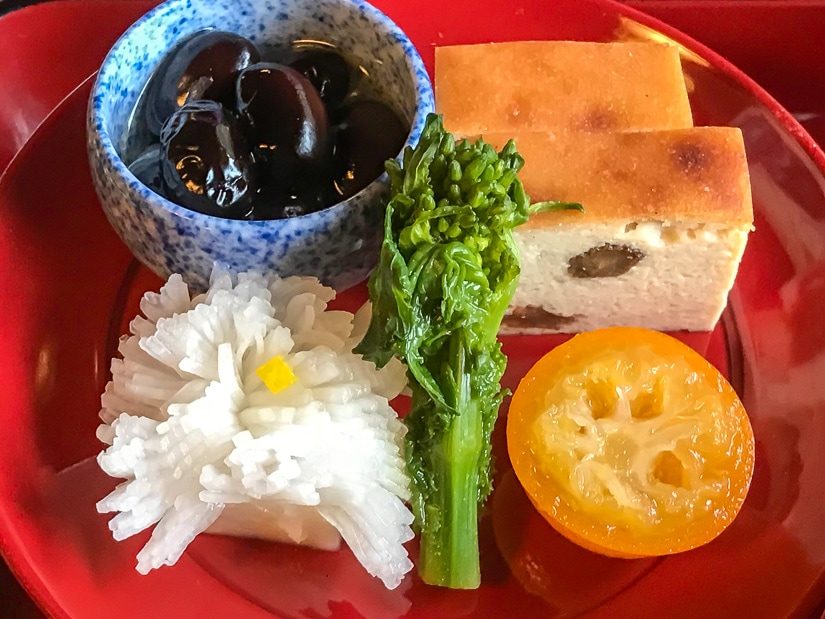 Vegetarian food in Kamakura