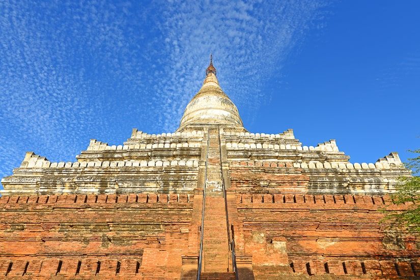 One of the top temples in Bagan, Shwesandaw
