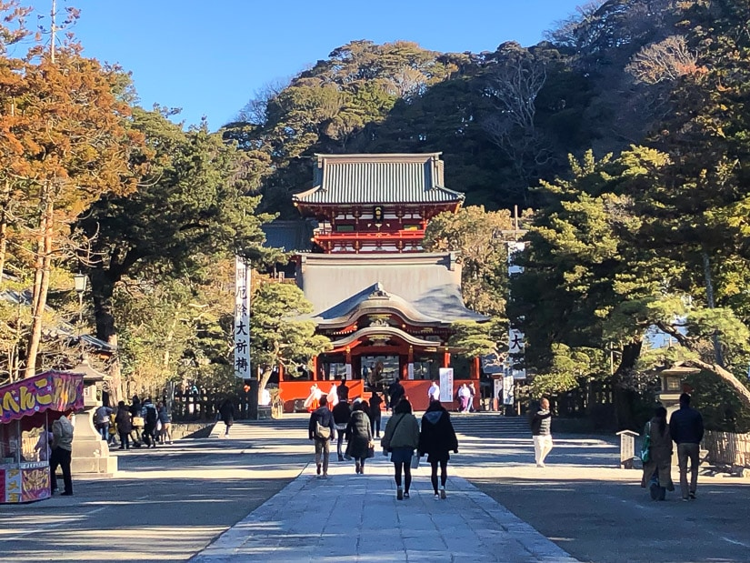 Tsurugaoka Hachimangu Shrine, a must visit on a Kamakura day trip