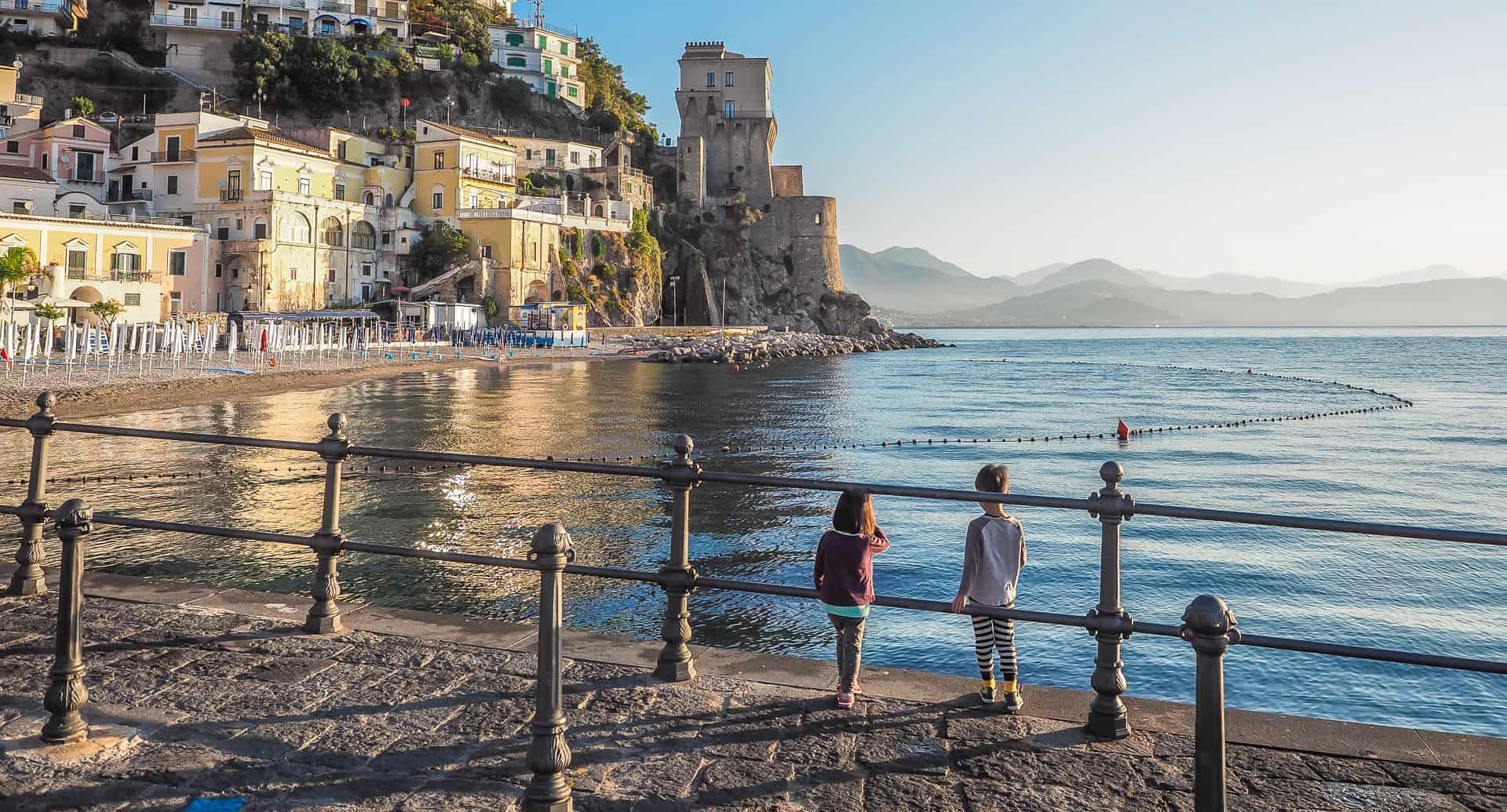 A detailed guide to Amalfi coast with kids