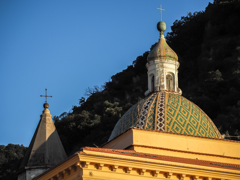 Dome of the Church of Saint Peter the Apostle (Cetara Cathedral)