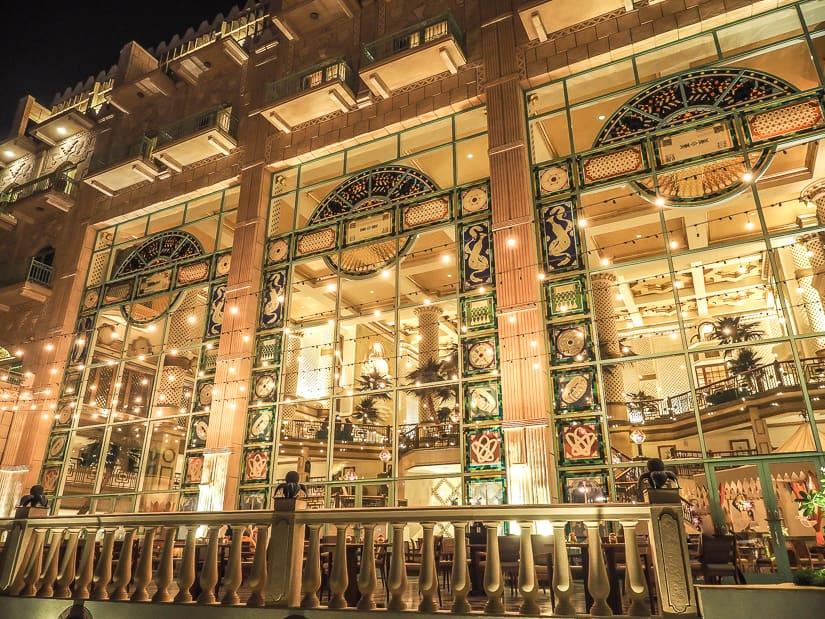 Exterior of Grand Hyatt Muscat